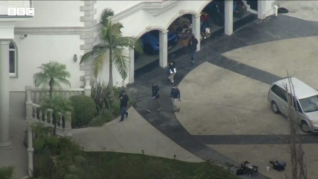FBI find guns at Jake Paul mansion