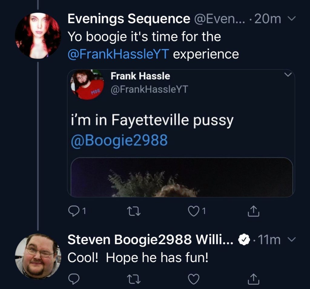 threatening tweet