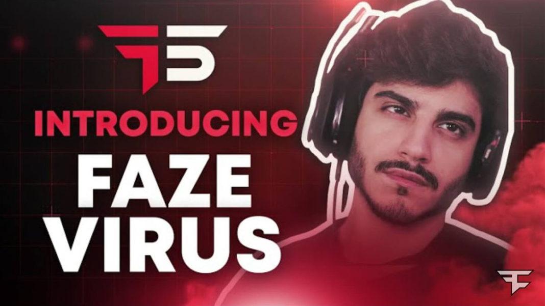 FaZe VIRUS announced as second clan recruit in FaZe Five