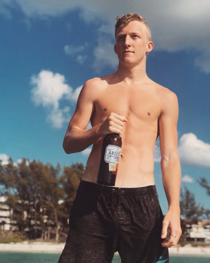 TFue drunk and drinking
